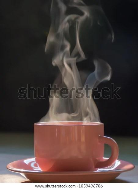 pink cup coffee tea