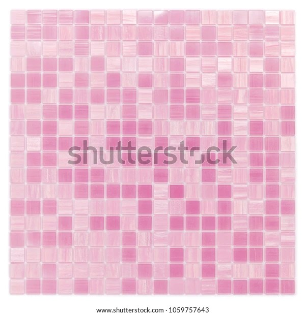 https www shutterstock com image photo pink mosaic tile texture glass background 1059757643