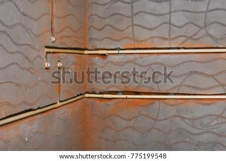 Pipe Connections Plumbing Work Bathroom Washroom Stock Photo (Edit Now) 775199548 - Shutterstock