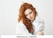ginger hair stock