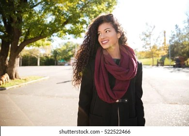 woman wearing scarf images