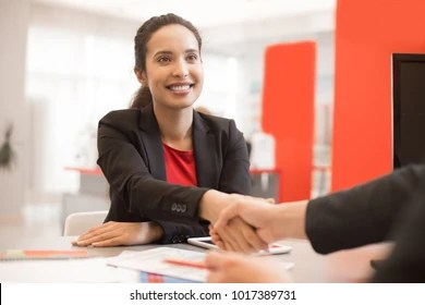 sales woman images stock