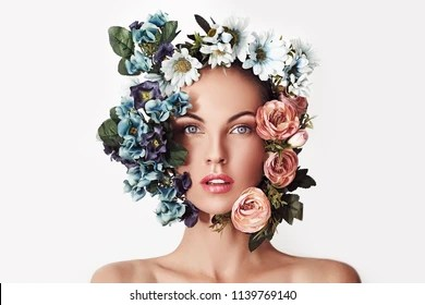 flower head images stock