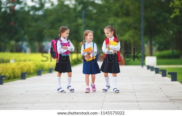 ppy children girls girlfriend schoolgirl student elementary school