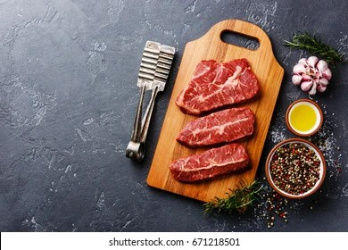 Blade Steak Images, Stock Photos & Vectors | Shutterstock