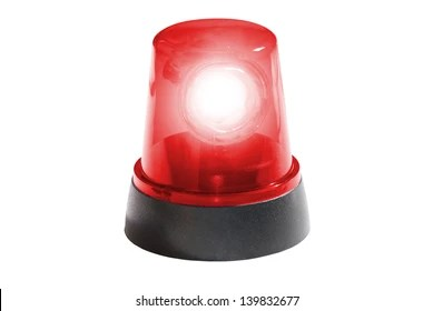 red alarm light images
