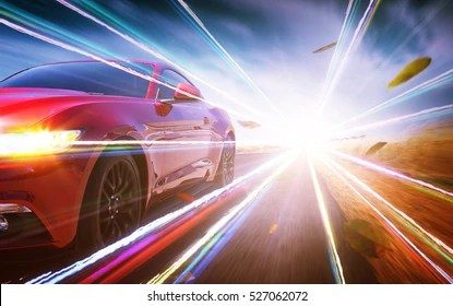 fast car images stock
