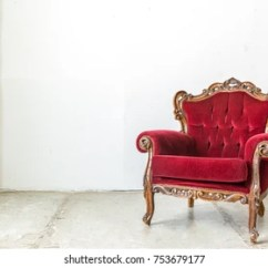 Chair Design Antique Ground Blind Images Stock Photos Vectors Shutterstock Red Vintage Retro Style