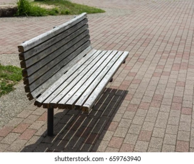 Relaxing Chair In The Park