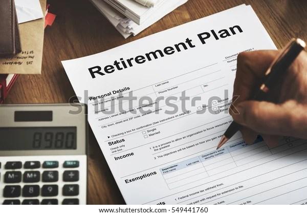 Retirement Plan Loan Liability Tax Form Stock Photo (Edit Now) 549441760