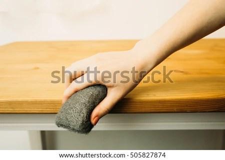 Sandblasting Wood