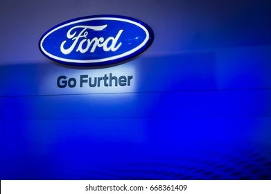 ford logo images stock