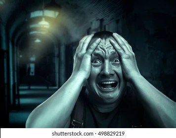 scared images stock photos