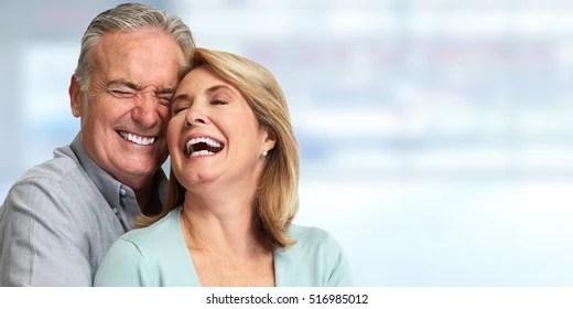 couple old smiling images