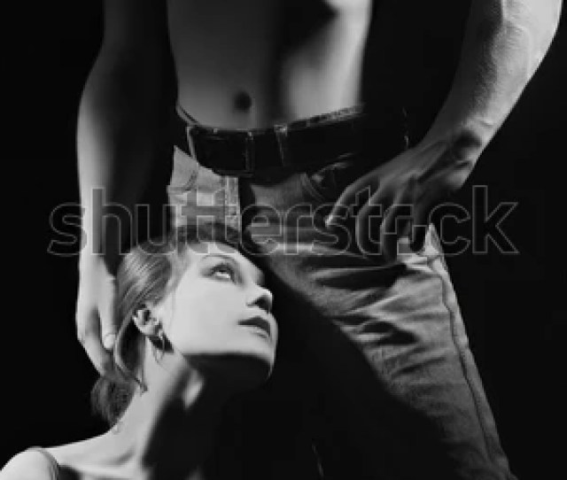 Sex Erotic Couple Passionate Black And White Man And Woman