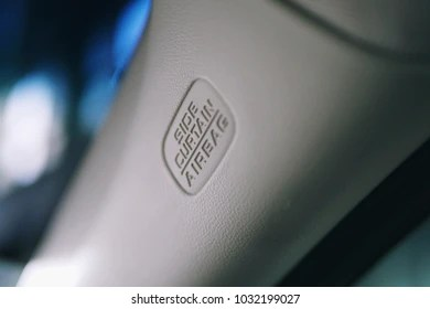 https www shutterstock com image photo side curtain airbag system on car 1032199027