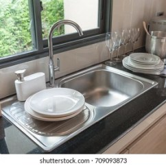 Sink For Kitchen Refinishing Porcelain Images Stock Photos Vectors Shutterstock In Room Modern Counter With Interior Design Concept