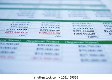 Spreadsheet Images, Stock Photos & Vectors | Shutterstock