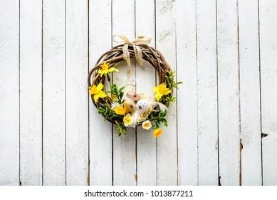 Easter Wreath Shutterstock