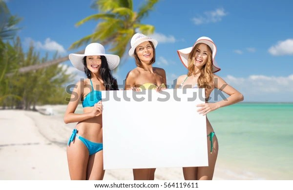 Summer Holidays Travel People Advertisement Vacation Stock Photo Edit Now 564119611