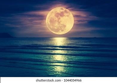 full moon scene images