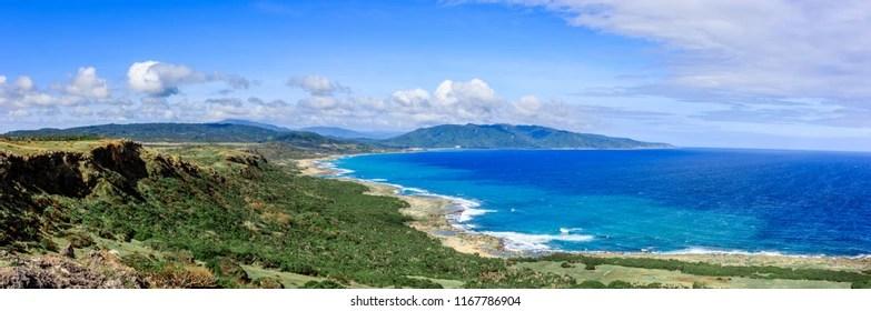 Bilder Stockfoton Och Vektorer Med Taiwan Coastline