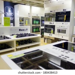 Kitchen Appliance Store Lowes White Sink Royalty Free Images Stock Photos Vectors Toronto Canada March 1 2014 Appliances On Display At An Ikea