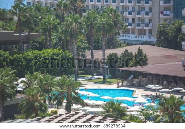 Turkey Alanya Konkali View Hotel Royal Stock Photo Edit Now