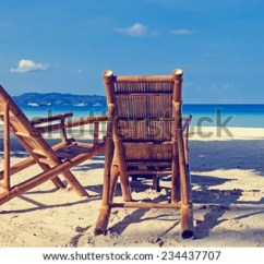 Perfect Beach Chairs Hanging Chair Boho Two On Tropical Stock Photo Edit Now Sand In Boracay Philippines