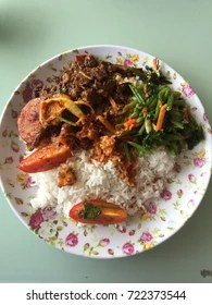 Nasi Campur Png : campur, Campur, Stock, Images, Shutterstock