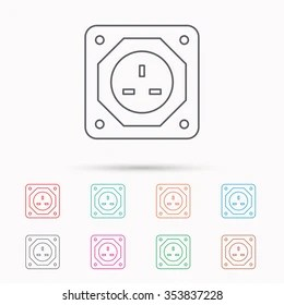 Uk Electrical Socket Images, Stock Photos & Vectors
