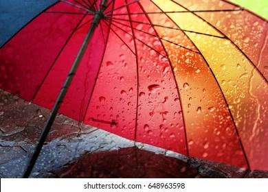 rainy day umbrella images
