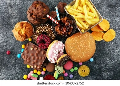 unhealthy images stock photos
