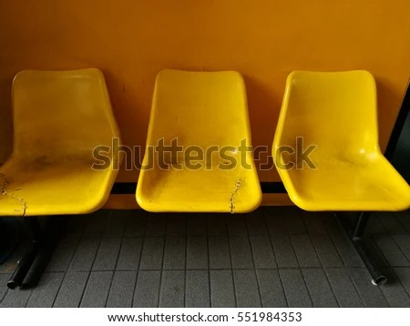 how to fix broken plastic chair bedroom lounge ikea very old yellow color on stock photo edit now 551984353 orange background repair with stiches