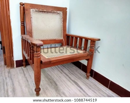 teak wood revolving chair high back covers ireland 100 india pure stylish example resume and cover vintage model wired stock photo edit now