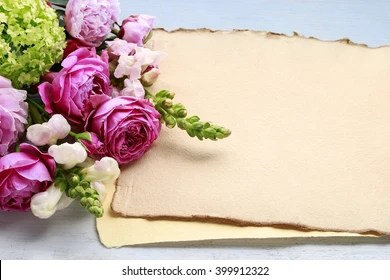 birthday flowers images stock