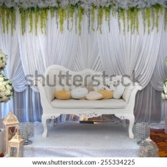 Chair Accessories For Weddings White Rocking Target Wedding Beautiful Vintage Chairs Stock Photo With A Decorations