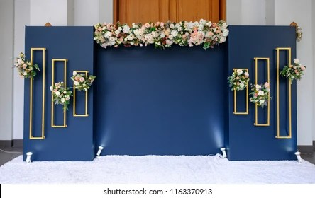 wedding backdrops images stock