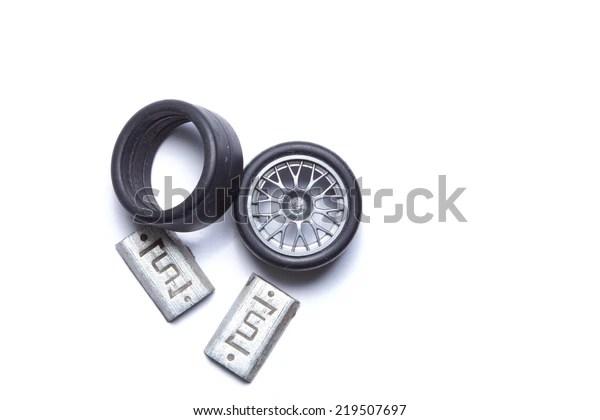 wheel balance weight made