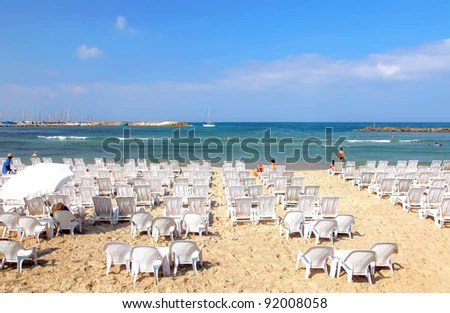perfect beach chairs cane dining table white on stock photo edit now 92008058 of the mediterranean sea