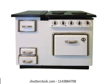 vintage kitchen stoves wall table for old stove images stock photos vectors shutterstock white retro isolated over background