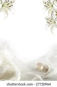 https www shutterstock com image photo white wedding greeting blank two rings 27720964