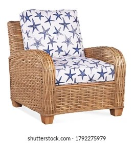 https www shutterstock com image photo wicker outdoor armchair isolated on white 1792275979