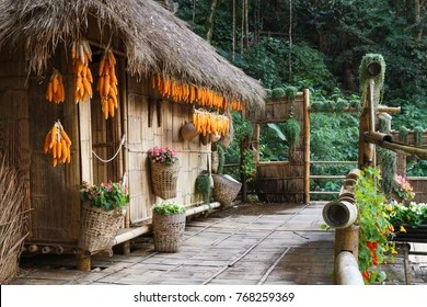 House Bamboo Images Stock Photos Vectors Shutterstock