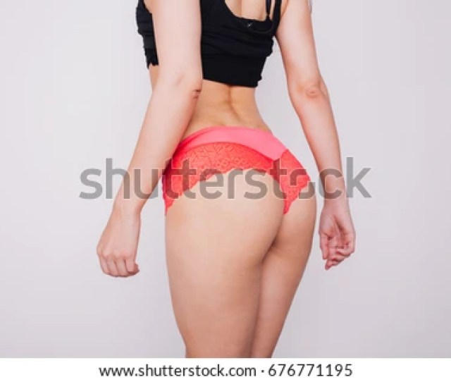 Young Slender Girl With A Big Ass Sports Figure Posing In Lingerie Inflated