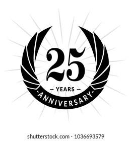 25th Anniversary Logo Images, Stock Photos & Vectors