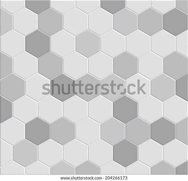 https www shutterstock com image vector 3d hexagon tile brick pattern decoration 204266173