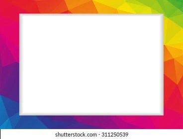 Rainbow Frame Images Stock Photos Amp Vectors Shutterstock