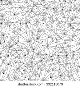 Black White Geometric Pattern Coloring Pages Images Stock Photos Vectors Shutterstock