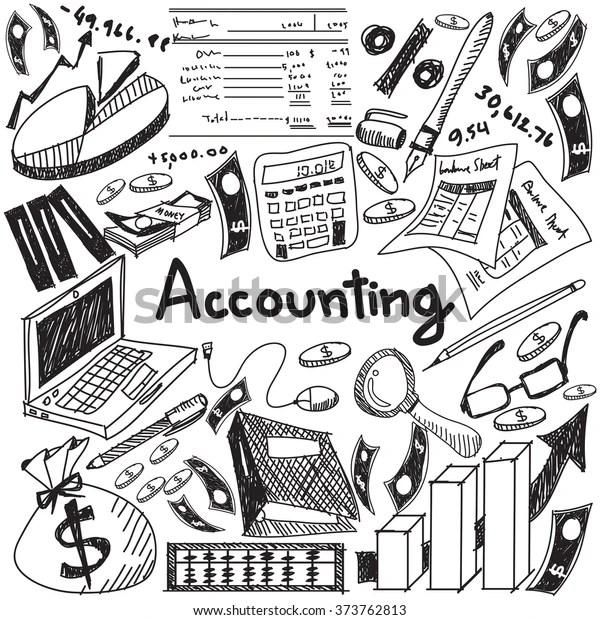 Vector de stock (libre de regalías) sobre Accounting